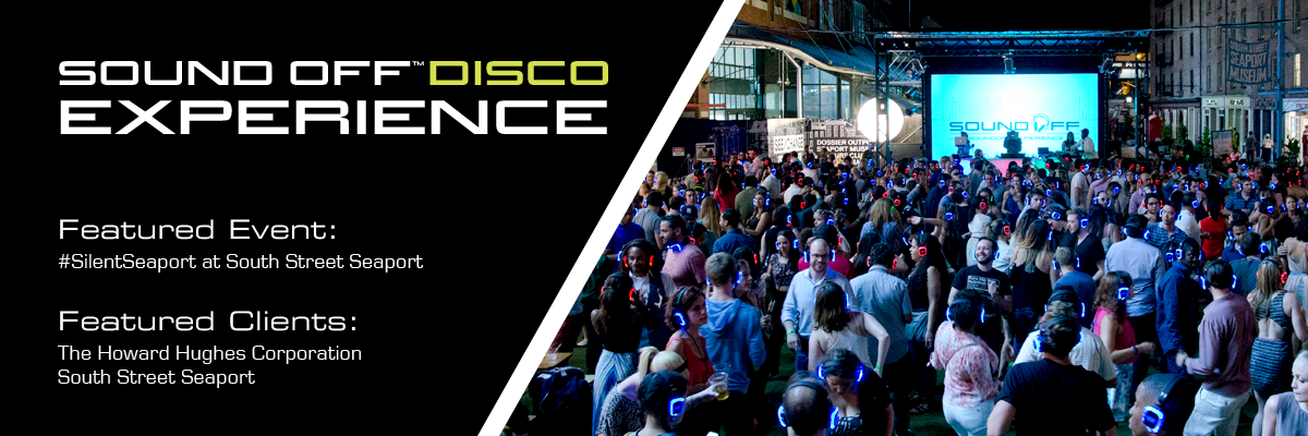 Sound Off Silent Disco Experience
