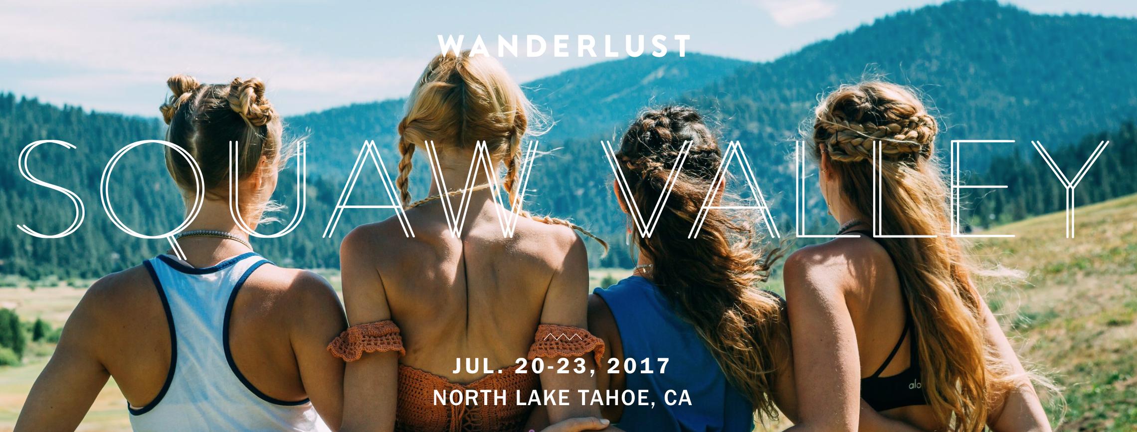 Wanderlust Squaw Valley Festival