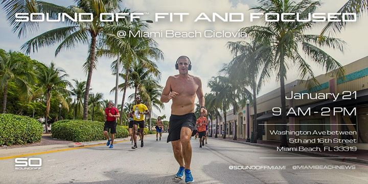 Don T Miss Sound Off Fit Focused Activities At Ciclovia It S That Time Again On Sunday January 21st Experience And The City Of Miami Beach