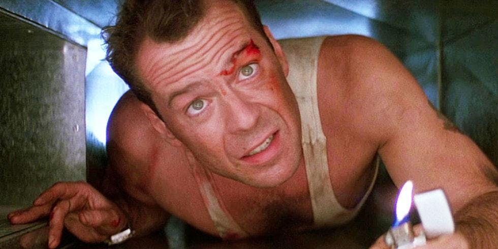 Die Hard, The Montalbán Rooftop Movies