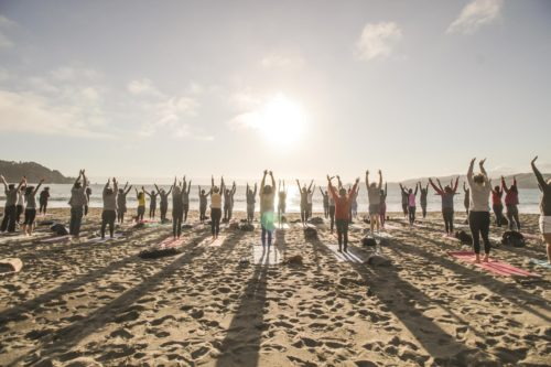 Sunday Ritual Beach Yoga with Kirin Power!