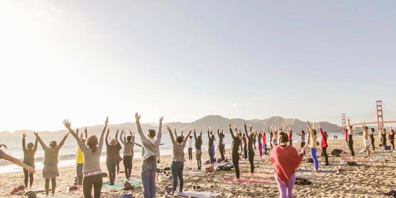 Sunday Ritual Beach Yoga with Julianne