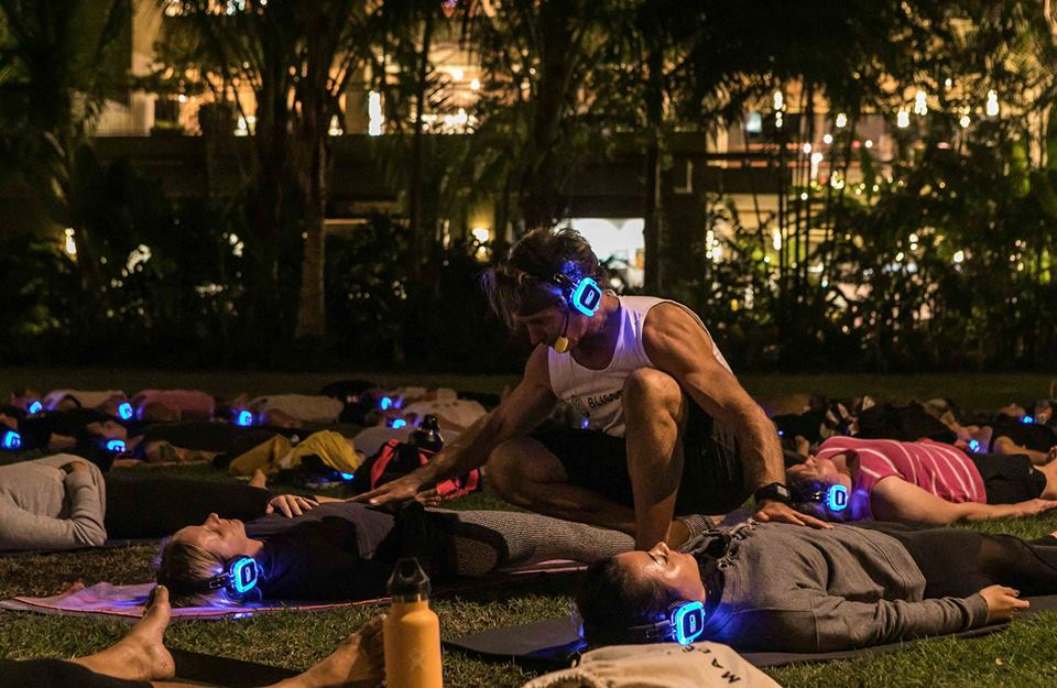 Full Moon Silent Disco Yoga w/Eoin Finn [EcoKarma Donation]