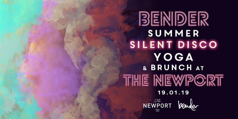 Silent Disco Yoga + Brunch // Bender x Newport