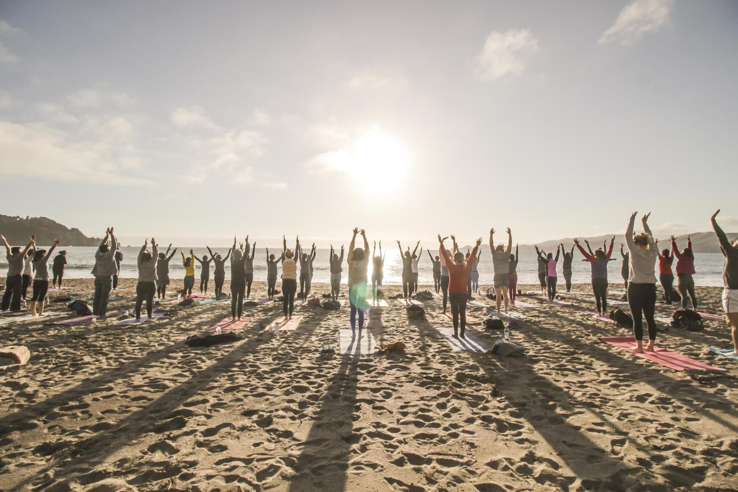 Tuesday Zen Vibes : Sunset Yoga with Julianne