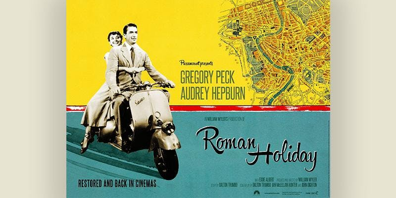 Roman Holiday, The Montalbán rooftop movies