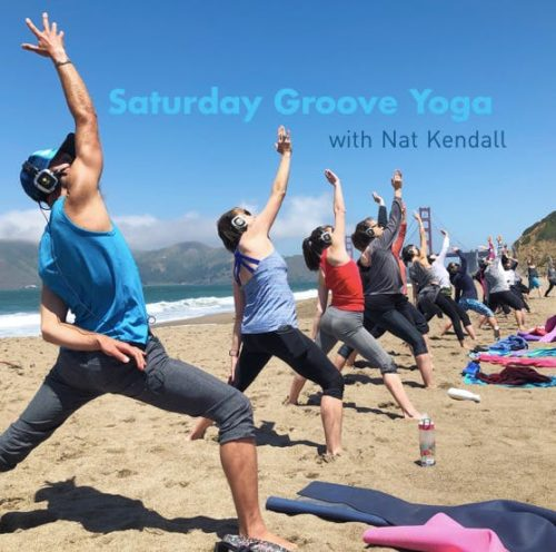 Saturday Groove Yoga with Nat Kendall!