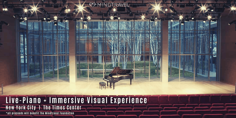 MindTravel Live-Piano and Immersive Visual Experience at TheTimesCenter