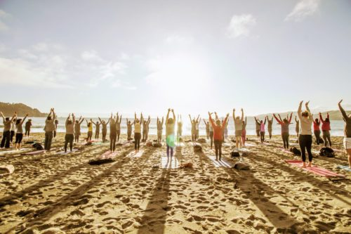 Friday Sunset Yoga with Dana Damara!