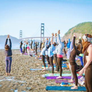 Saturday Beach Yoga with Susannah Freedman