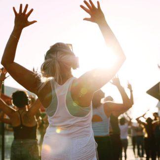 Sunday Zen Beach Yoga with Kirin Power